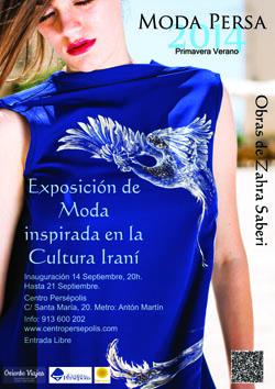Poster Moda Persa