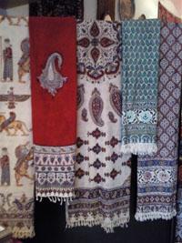 mantel Qalamkar persa