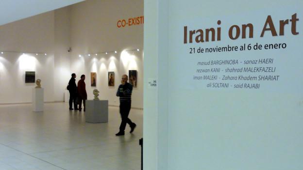 در سالن سان چینارو وابسته به شهرداری مادرید (Irani On Art ) نمایشگاه ایرانی و هنر