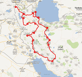 Itinerario-IRAN1