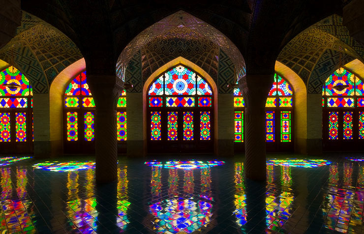 Shiraz mezquita
