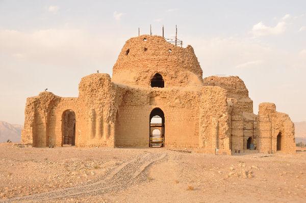Palacio Sasánida, Irán