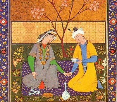 miniatura persa