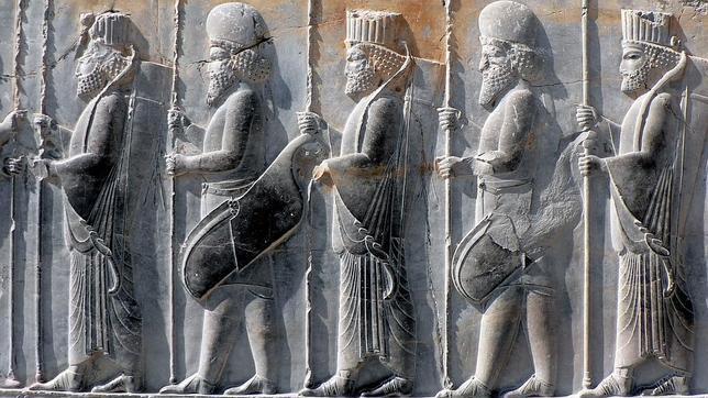 CORDELIA PERSEN Persepolis, guerreros persas y medos