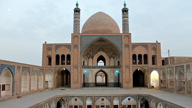 L.A. La mezquita de Agha Bozorg en Kashan