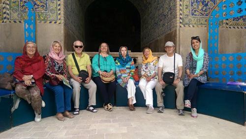 Viajeros por Persia, mayo 2015