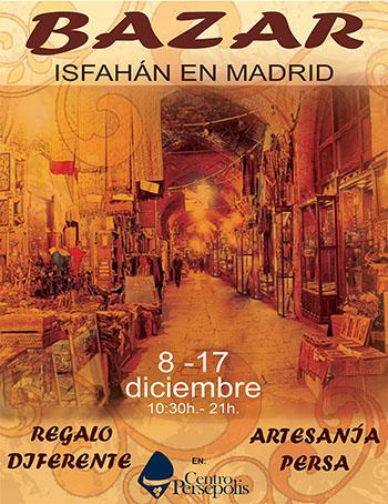 BAZAR Isfahan in Madrid