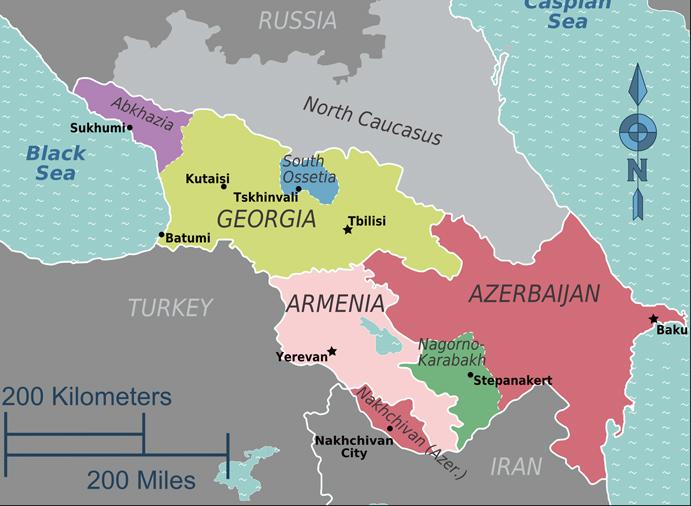 Caucaso-Mapa-actual