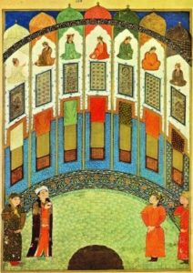 Haft-Paykar-attributed-to-Junaid-Anthology-of-Iskandar-Sultan-Shiraz-eighth-century